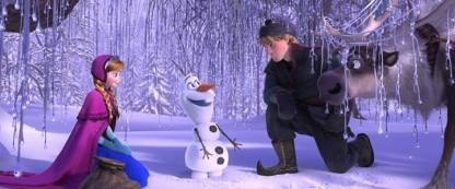 Frozen, Anna, Kristoff y Olaf