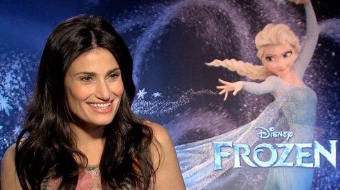 Idina Menzel cantará Let it go (Frozen) en la ceremonia de los Oscar