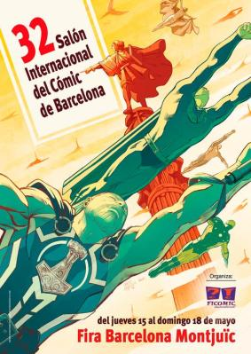 XXXII Salón del Cómic de Barcelona - Chica Píxel